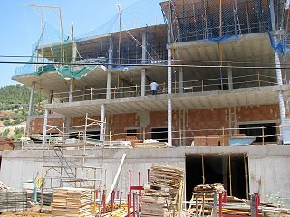 Obras Residencia de Mayores. Julio 2009