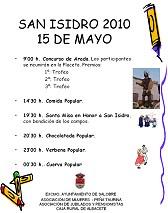 Programa San Isidro 2010